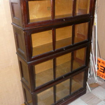 MACY'S STACKING BARRISTER BOOKCASE