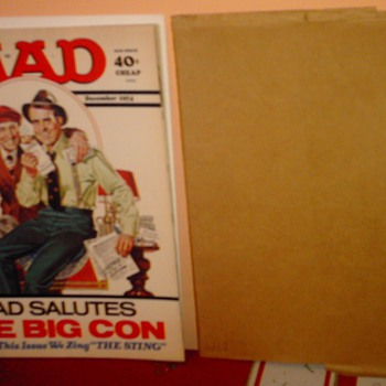 The crown Jewel of my MAD collection. MAD #171 - Comic Books