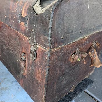 Old Leather Travel Trunk Restoration? - Furniture