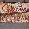 supreme icecream sign