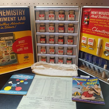Gilbert Chemistry Set 60th Anniversary - Toys