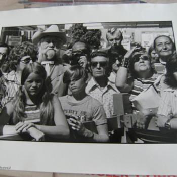 """Gary Leonard Photograph, """"Hollywood Boulevard"""" (1973) - Photographs"""