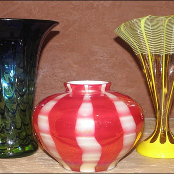 """Some Results of One of My """"Quests"""" - Kralik - Art Glass"""
