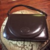 Emperor Leather Goods Brown Leather Vintage Purse