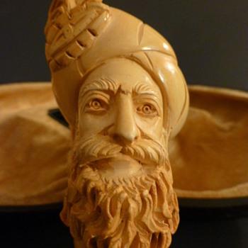 Meerschaum sultan pipe - Tobacciana
