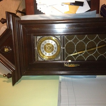 My first antique grandfather clock - Clocks
