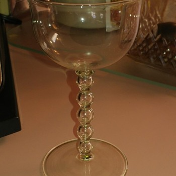 Beautiful 1920's Stemware?