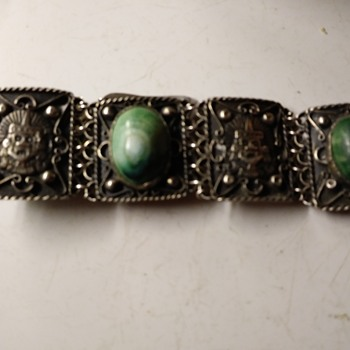 NEED INFO ON STERLING RAG MEXICO BRACELET - Silver