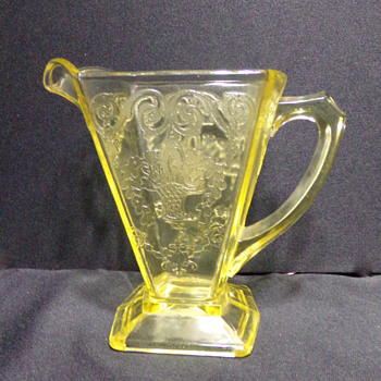Depression Glass Creamer? - Glassware