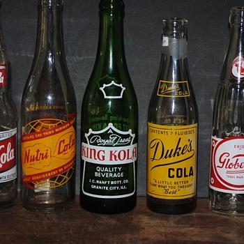 Colas Not Often Seen... - Bottles