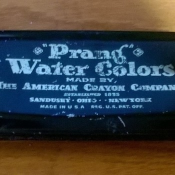 American Crayon Co: Prang Water Colors and Hygieia Chalk - Office