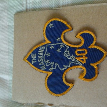 Vintage BSA Alaksa Patch Please Help ID - Medals Pins and Badges