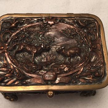 French jewelry casket  - Fine Jewelry
