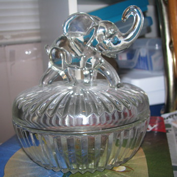 Candy dish elephant - Animals