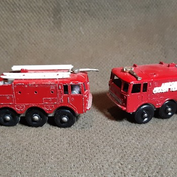 Multiple Mono Matchbox Monday 2 MB 63's Foamite Crash Tender 1965-1968 - Model Cars