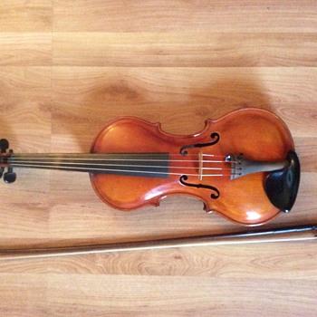 """VIOLIN ANTIQUE  SIGNED MAKER """"LESTER WORTHINGTON"""" 1933 - Musical Instruments"""