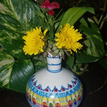 Italian Vase - Pottery