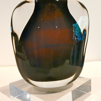 FLORIS MEYDAM FOR LEERDAM 1958 - Art Glass