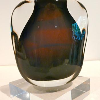 FLORIS MEYDAM FOR LEERDAM 1958 - Art Glass