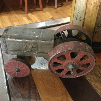Toy tractor made in Germany