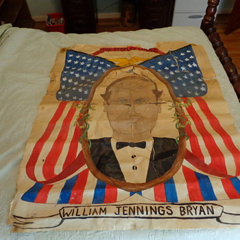 Period home made William Jennings Bryan political poster or not?