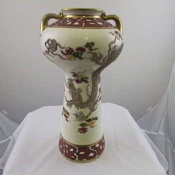 Japanese Moriage Vase - Asian