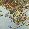 Koch's Seattle, Washington Birdseye Map (1891)