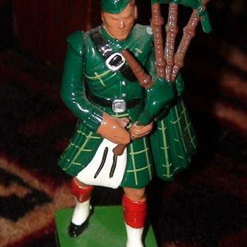 Highland Piper Metal Soldier - Toys