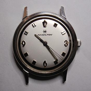 "1968 Hamilton ""Sea-Rover 3""  stainless steel case"