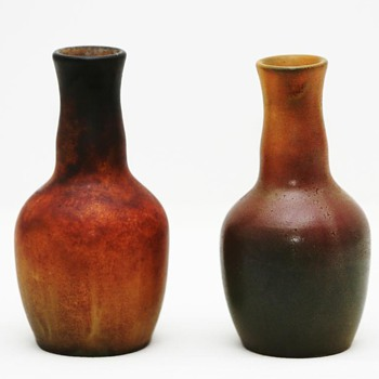 Vases and Bowl, Ipsen (Denmark), 1903 and ca. 1920 - Pottery