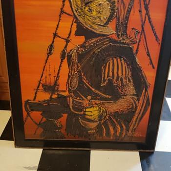 Cool Vangaard drip painting - Fine Art