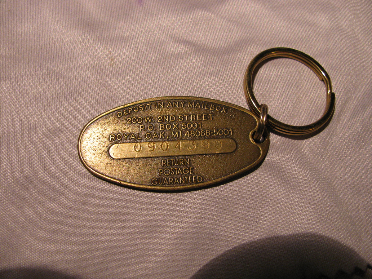 Old Chevy Keychain Collectors Weekly
