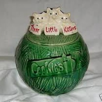 """Three Little Kittens"" Cookie Jar"