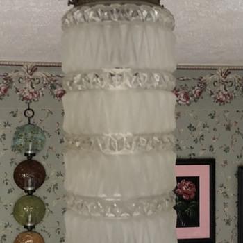 Attention Cokeman1959….Vintage hanging light fixture - Lamps