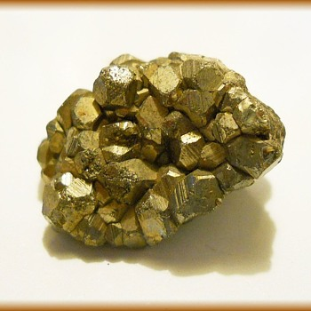 Pyrite  ====>>>> ( aka Fool's Gold ) ?? - Gemstones