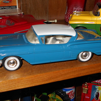 1958 Impala promo - Model Cars