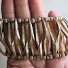 Trifari leaf bracelet