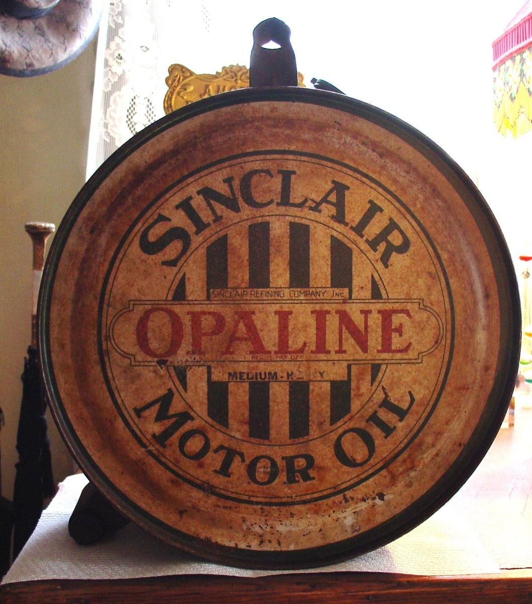 Sinclair Opaline Motor Oil...5 Gallon Oil Rocker Can...1920's | Collectors Weekly