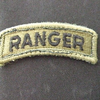 US Army Ranger Tab - Military and Wartime
