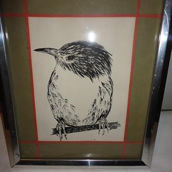 Bird Drawing - Animals