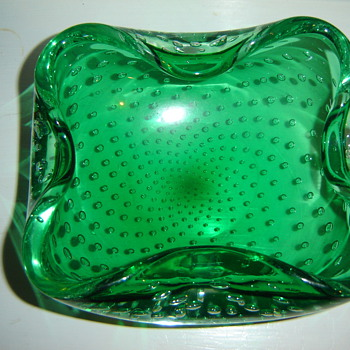 Art Glass ashtray - Art Glass