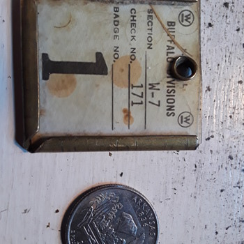 what is this WESTINGHOUSE ELECTRIC factory (?) tag for/from?? - Tools and Hardware