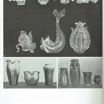 Kralik - Photos of Documented Shapes and Decors from 1902-1908 - Art Glass