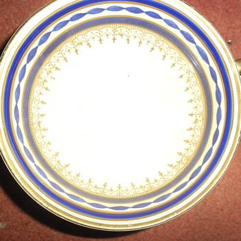 Double handled cup - China and Dinnerware