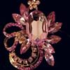 Lovely Pink Brooch