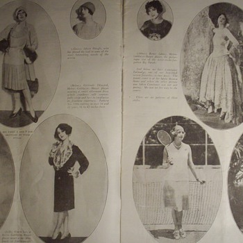 1920's Fashion. - Womens Clothing