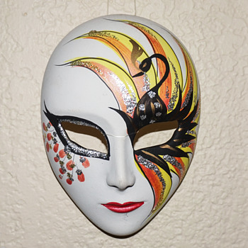 Small Porcelain Mask - Fine Art