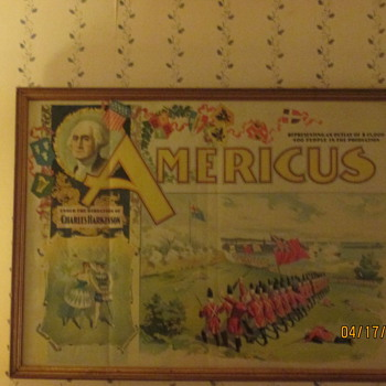 My Circus Poster from 1894