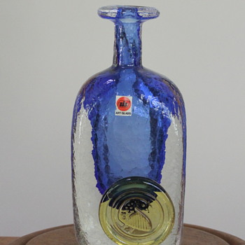 Iwatsu and the art of decanting - Art Glass