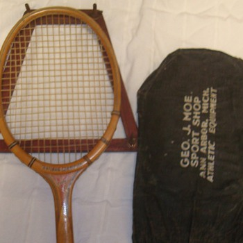 Tennis Racquet form Geo J Moe's Sport Shop - Sporting Goods